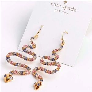 $88 New Kate Spade Spice Thing Up Snake Earring